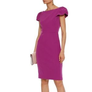 MILLY Gather Sleeve Dress